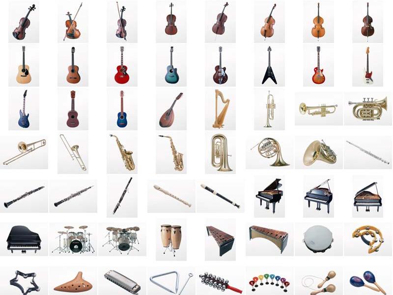 آشنایی با آلات موسیقی (اسامی ،سنتی و غربی)