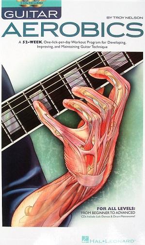 دانلود رایگان کتاب 110 صفحه ای ایروبیک گیتار