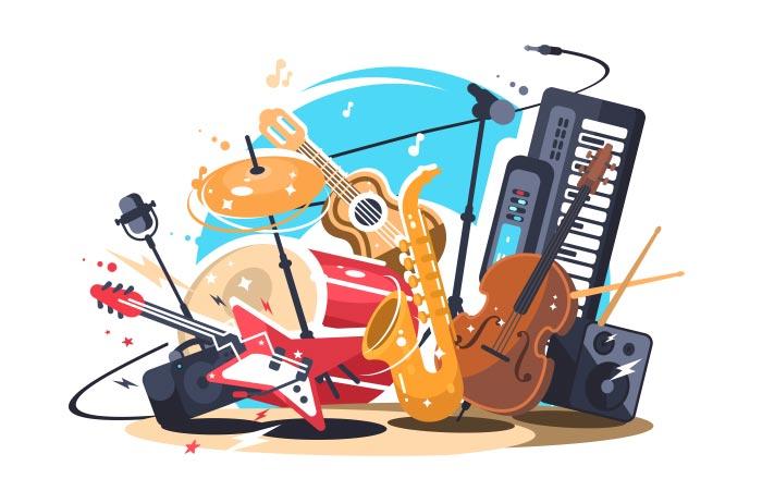 سخت ترین سازهای موسیقی