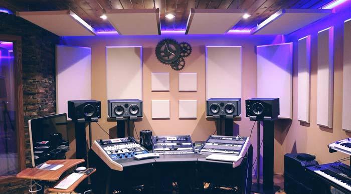 ضبط استودیو