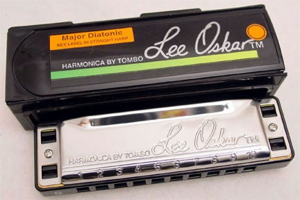 Picture of Types of Harmonicas