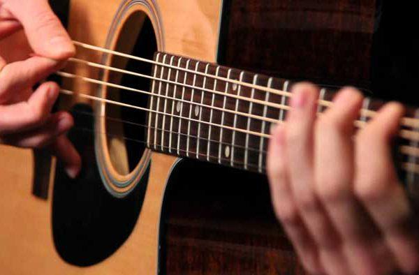 یادگیری گیتار