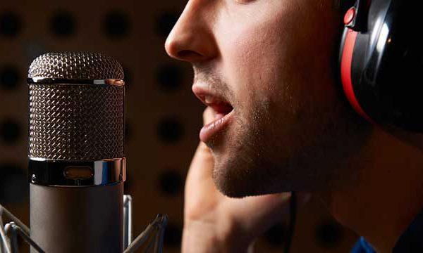 ضبط صدای خواننده