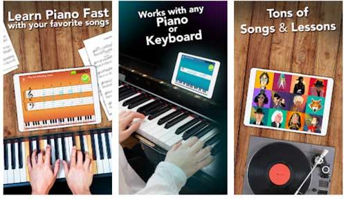 اپلیکیشن آموزش پیانو Simply Piano