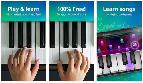 اپلیکیشن آموزش پیانو Piano Free-Keyboard