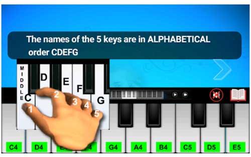 اپلیکیشن آموزش پیانو Real Piano Teacher