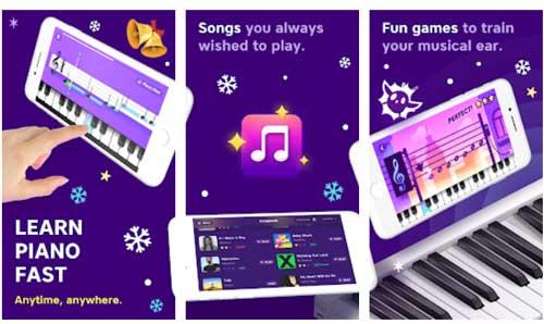 اپلیکیشن یادگیری پیانو Piano Academy